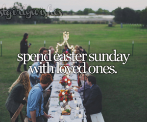 dinner, easter, and family image