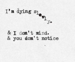 dying, quotes, and depression image