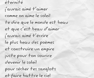 amour, chanson, and mood image
