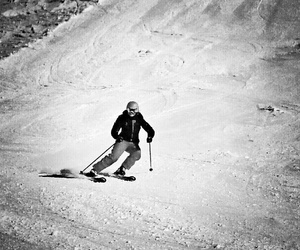 black white, speed, and mountains image