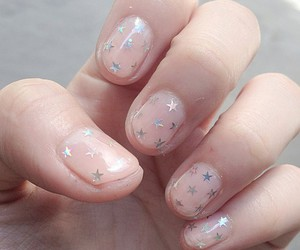 nails, stars, and pale image