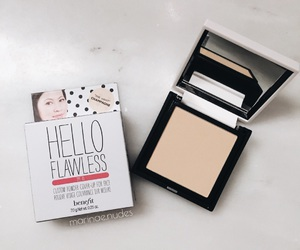 benefit, glam, and powder image