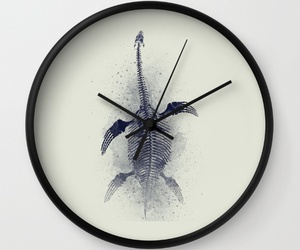 art, wood, and clock image