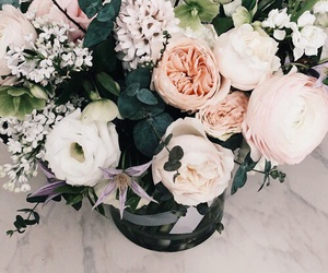 flowers, indie, and theme image