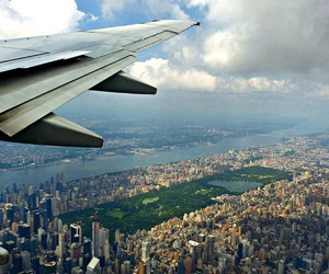 Central Park, new york, and fly image
