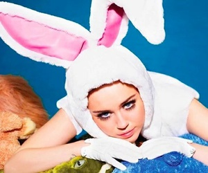 miley, rabbit, and love image
