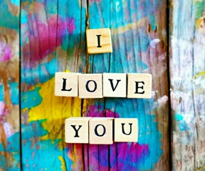 love, colors, and wallpaper image