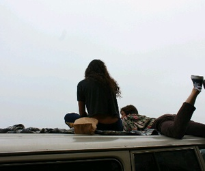 friends, travel, and grunge image