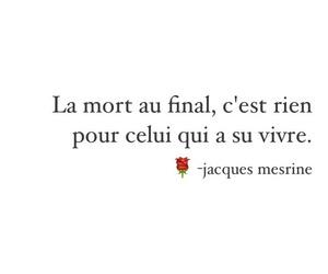 mort, vie, and jacques mesrine image