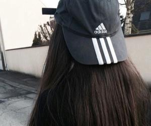 adidas, hair, and tumblr image