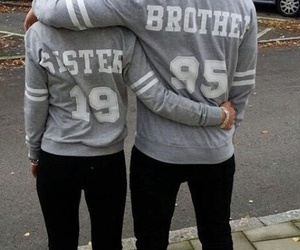 brothers, sister, and love image