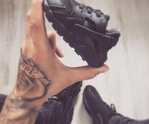 baby, black, and shoes image