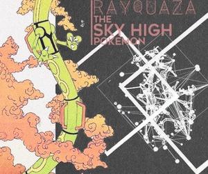 pokemon and rayquaza image
