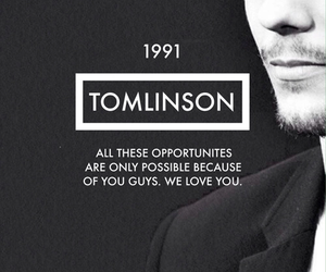 louis tomlinson, one direction, and 1991 image