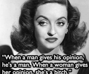 quote, woman, and Bette Davis image