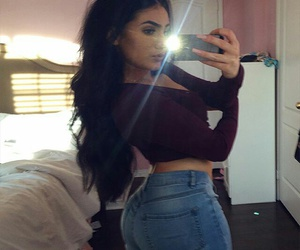 beauty, eyebrows, and big butt image