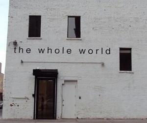 world, white, and grunge image