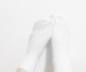 socks, feet, and white image