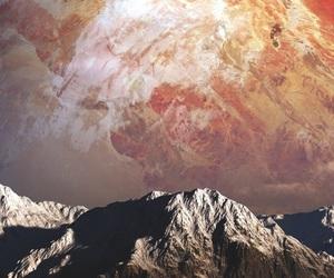 alien, amazing, and background image