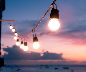 light, sea, and summer image