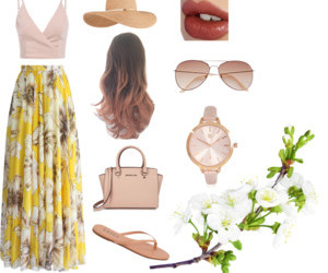 fashion, skirt, and sunglasses image