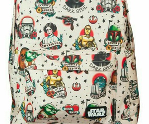 backpack, star wars, and cute image