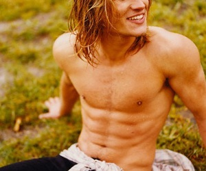 beautiful, long haired guys, and blonde image