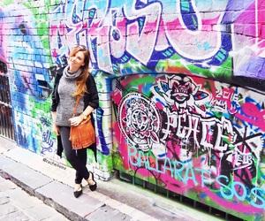 art, melbourne, and street art image