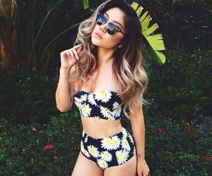 beauty, girl, and bikini image
