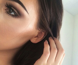 beauty, make up, and tutorial image