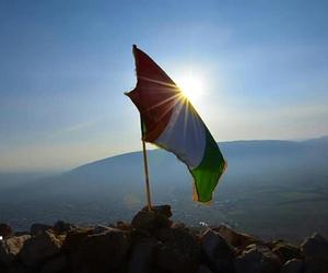 flag, kurd, and kurdish image