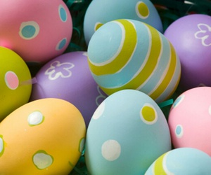 easter eggs, pretty, and cute image