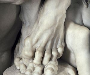 sculpture, art, and feet image