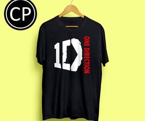 t-shirt, men tshirt, and one direction image