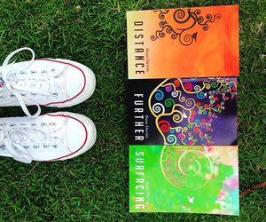 author, converse, and books image