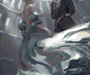 art, anime, and fantasy image