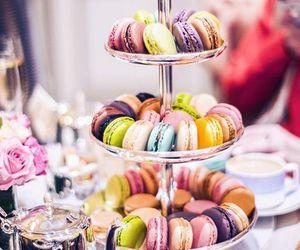 macarons, food, and luxury image