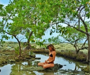 fit, girl, and nature image