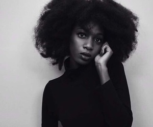Afro, girl, and aesthetic image