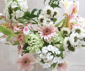 flowers, easter, and pink image