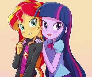 anime and my little pony image