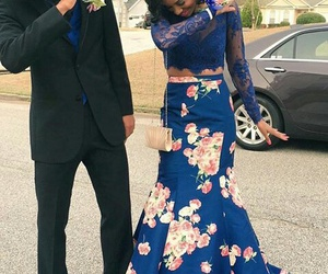 Prom, dab, and couple image
