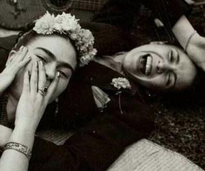 Frida, frida kahlo, and black and white image