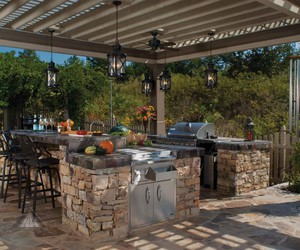 design, kitchen, and outdoor image