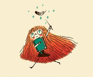 gryffindor, hair, and harry potter image