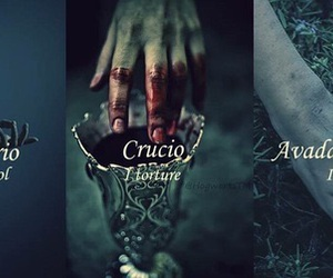 harry potter, crucio, and imperio image