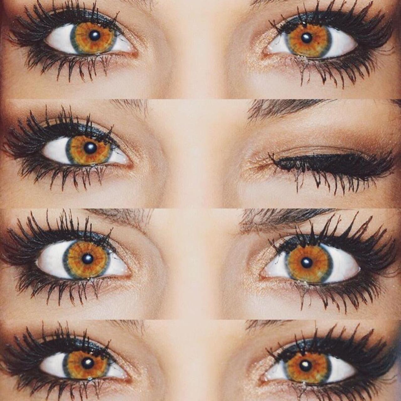 hazel eyes tumblr