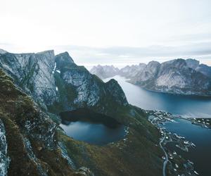 camp, lake, and nature image