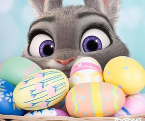 easter, zootopia, and eggs image
