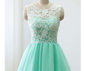 dress, Prom, and lace image